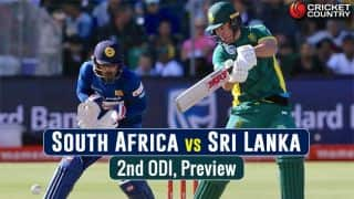 SA vs SL, 2nd ODI, Preview: Visitors aim to stay afloat after defeat in series opener