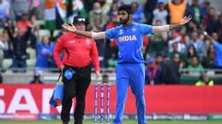Cricket World Cup: India ride their luck to seal semi-final passage, with big help from Rohit Sharma and Jasprit Bumrah