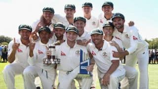 Cricket Australia announces contracted players list for 2016-17