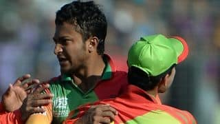 Shakib Al Hasan, Dawlat Zadran fined for breaching ICC Code of Conduct