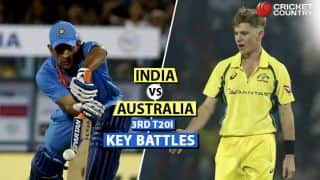 IND vs AUS, 3rd T20I: Kohli vs Behrendorff, Dhoni vs Zampa and other key battles