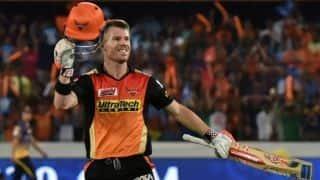 राजस्थान के खिलाफ जीत के बाद बोले डेविड वार्नर- फैंस ने प्रेरित किया