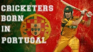 Five Test cricketers who were born in Portugal