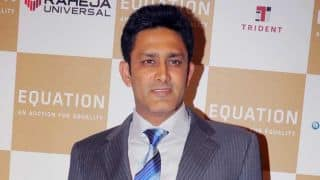 Anil Kumble applies for Team India Head Coach position: Reports