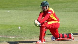 Zimbabwe need to score 363 runs (D/L method) to win against West Indies in ICC cricket World Cup 2015