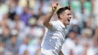 Chris Woakes pleased with bowling display against India