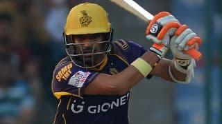 Dwayne Smith scalps 4 as KKR struggle against GL in IPL 2016