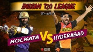 Indian T20 League, Kolkata vs Hyderabad latest updates: Rana, Russell power Kolkata to thrilling six-wicket victory