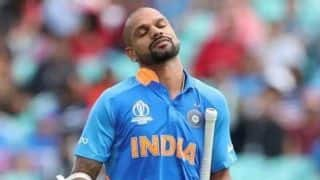 Cricket World Cup 2019: Shikhar Dhawan could miss New Zealand, Pakistan games
