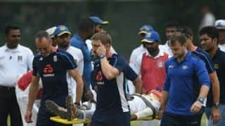 SL cricketer hospitalized after blow to head