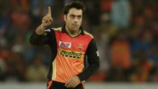 IPL 2018: Rashid Khan chokes MI batters; SRH need 148 to win