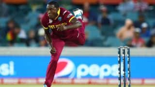 Jerome Taylor's brilliant bowling keeps West Indies hopes alive against India in ICC Cricket World Cup 2015