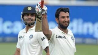 Pujara-Kohli partnership crucial for India