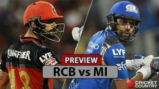 RCB vs MI, IPL 2017 Match 12 preview: Kohli strengthens RCB against Rohit's MI