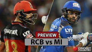 Royal Challengers Bangalore vs Mumbai Indians, IPL 2017 Match 12 preview: Virat Kohli strengthens RCB against Rohit Sharma's MI