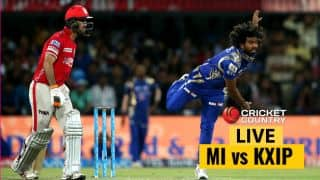 Highlights, MI vs KXIP, IPL 10, match 51: KXIP win by 7 runs; keep playoffs hopes alive