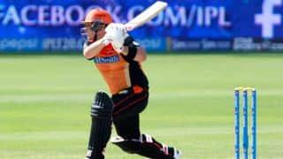 Aaron Finch, David Warner fire Sunrisers Hyderabad to 184/1 in IPL 7 tie against Delhi Daredevils