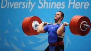Iraqi weightlifter tests positive in doping