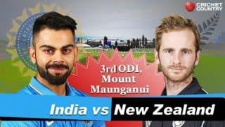 India vs New Zealand 2019, 3rd ODI, Live cricket score, Bay Oval: Red-hot India seal series with 7-wicket win