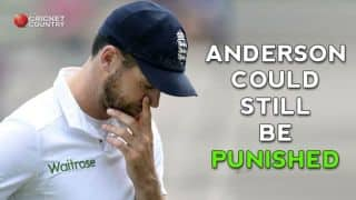James Anderson could still be punished