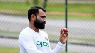 As things stand now, Shami's contract doesn't need to be terminated: BCCI official