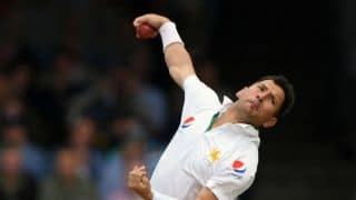 Yasir ruled out of warm-up match against Cricket Australia XI