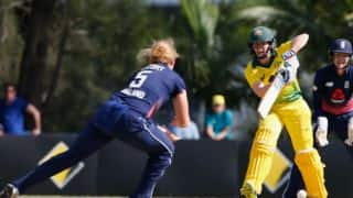 Women's Ashes 2017-18: Alex Blackwell's unbeaten 67 helps Australia beat England in 1st ODI