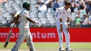 पाकिस्तान से सीरीज जीतने के लिए दक्षिण अफ्रीका को 41 रन का लक्ष्य