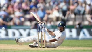 Virat Kohli dismissed by James Anderson on Day 3 of India vs England, 3rd Test at Southampton
