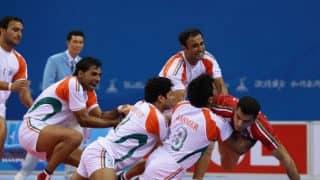 Asian Games 2014: Indian men's kabaddi team in 7th consecutive final