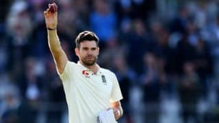 COVID-19: James Anderson auctions shirt, bat and stump from Cape Town Test to raise funds