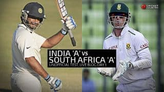 SA A 260 | Live Cricket Score India A vs South Africa A, 2nd unofficial Test, Day 1: India A spinners decimate South Africa A