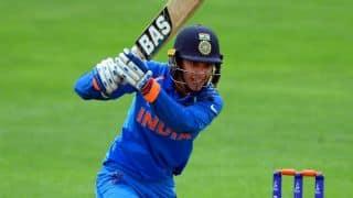स्मृति मंधाना के 67 रन की बदौरत भारतीय महिला टीम ने ऑस्ट्रेलिया को जीत के लिए दिया 153 रन का लक्ष्य