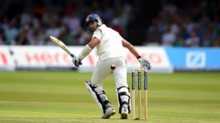 Murali Vijay dismissed by Stuart Broad on Day 3 of India vs England, 3rd Test