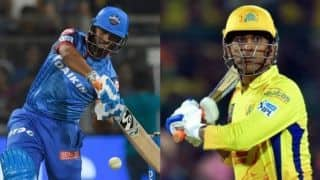 Indian T20 League, Delhi vs Chennai: It's Pant power versus Dhoni's acumen