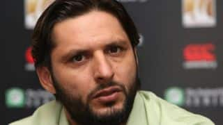 T20 World Cup 2016: Shahid Afridi down with fever ahead of Pakistan's opening match against Bangladesh