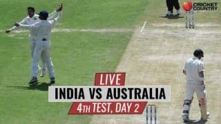 Live Cricket Score, India vs Australia 2017, 4th Test, Day 2: India trail by 52 runs