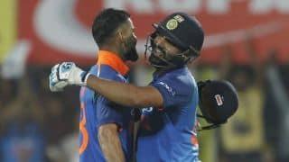 1st ODI: Rohit, Kohli centuries help India gun down 323