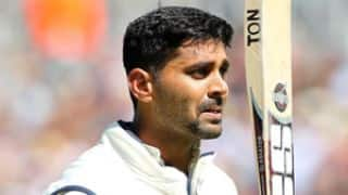 Murali Vijay, MS Dhoni take India to 342/5 against England at lunch on Day 2 of 1st Test