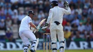 Ian Bell cleaned up by Ravindra Jadeja on Day 4 of 3rd India-England Test at Southampton