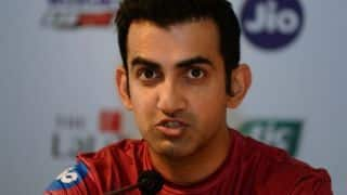 "Gautam Gambhir to return as DDCA ""government nominee"""