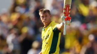 David Warner surpasses personal highest ODI score during Australia-Afghanistan ICC Cricket World Cup 2015 match at Perth