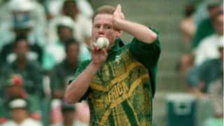 Lance Klusener claims 6 for 49 in ODI against Sri Lanka in 1997