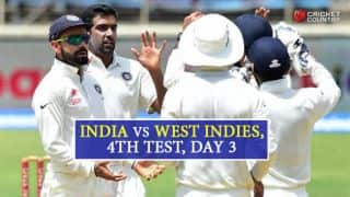 India vs West Indies 4th Test, Day 3 Live Updates: Play called off