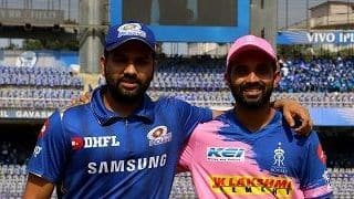 IPL 2019, MI vs RR: Ajinkya Rahane wins toss, Rajasthan Royals elect to bowl against Rohit Sharma-led Mumbai Indians