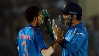 MS Dhoni, Yuzvendra Chahal join hands to smack Sri Lanka down in 1st T20I at Cuttack