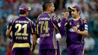 Piyush Chawla, Sunil Narine help Kolkata Knight Riders restrict Kings XI Punjab to 132/9 in IPL 2014 game
