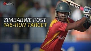 India vs Zimbabwe 2015, 2nd T20I at Harare: Hosts set 145-run target