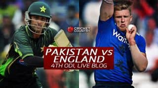 PAK 271 all out in 40.4 overs | Live Cricket Score, Pakistan vs England 2015, 4th ODI at Dubai: Pakistan won by 84 runs