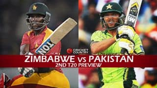 Zimbabwe vs Pakistan 2015, 2nd T20I at Harare, Preview: Visitors aim for clean sweep